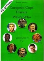 European Cups` Players Whos`s who - Volume IV S - Z